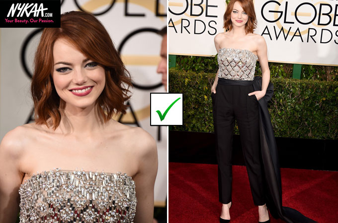 Fashion hits and misses at the Golden Globes| 2