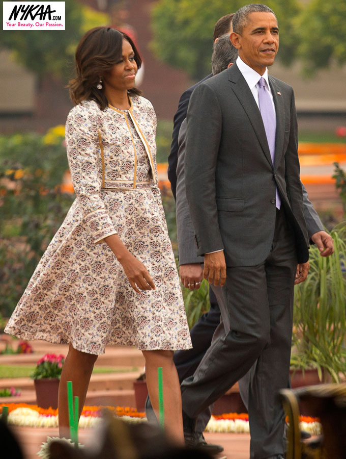 Fashion diplomacy Michelle O style| 2