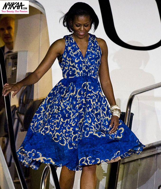Fashion diplomacy Michelle O style| 4