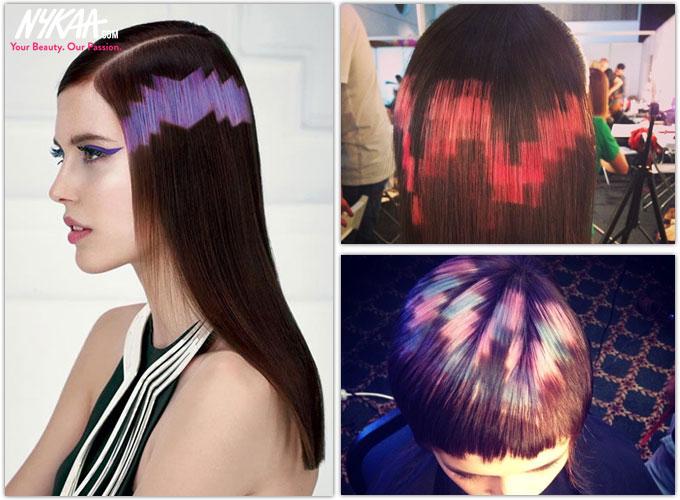 Pixelated hair, the hip new hair trend| 1