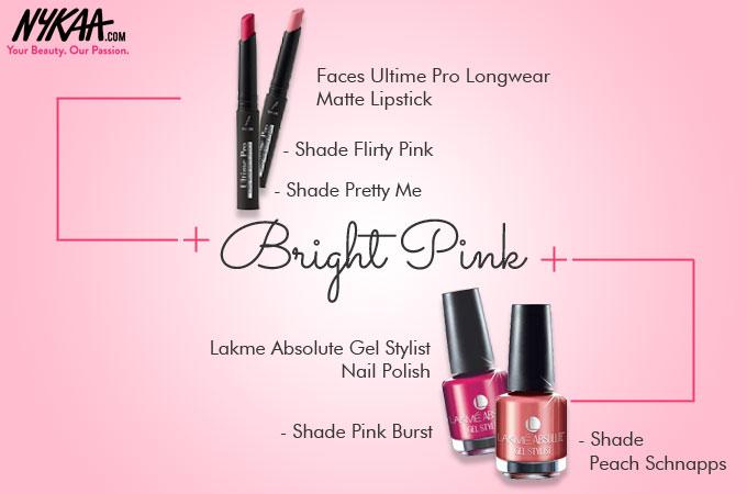 Eight bright-n-blooming Spring nail and lip hues!  45