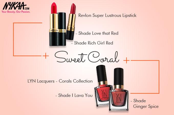 Eight bright-n-blooming Spring nail and lip hues!  56