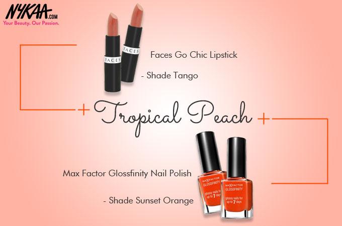 Eight bright-n-blooming Spring nail and lip hues!  78