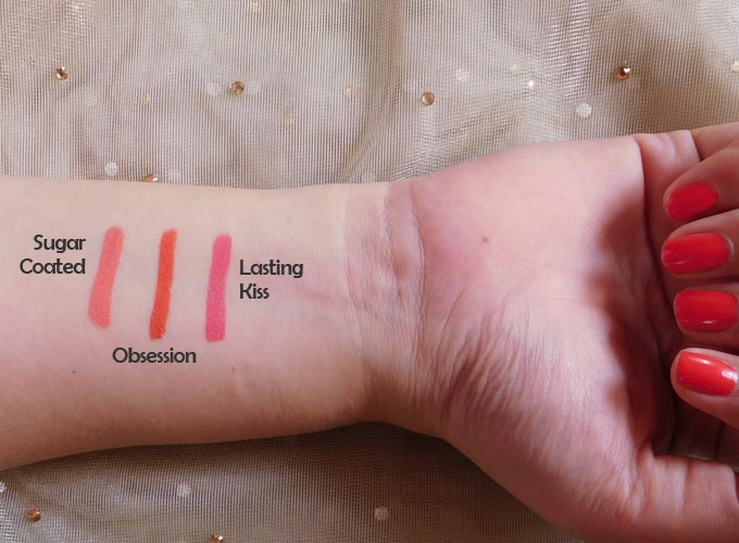 Bridal shimmer with FACES Ultime Pro Lip Crayons Collection| 3