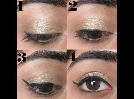 Create the perfect winged eyeliner