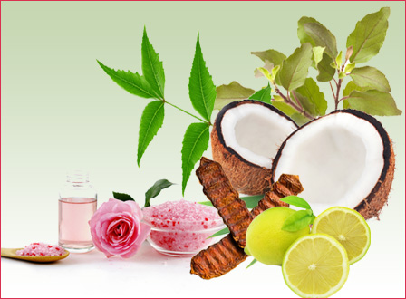 Beauty benefits of natural ingredients