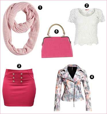 How to wear bubblegum pink| 1