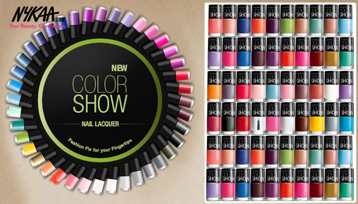 Color Show Fashion fix for your fingertips| 2