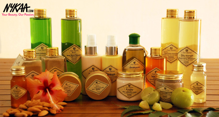Luxurious, natural skincare with Just Herbs| 1