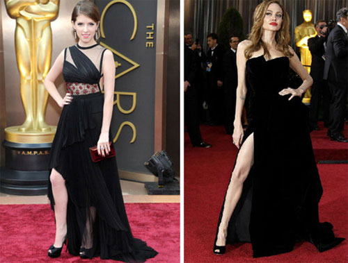 On the red carpet at the Oscars| 15