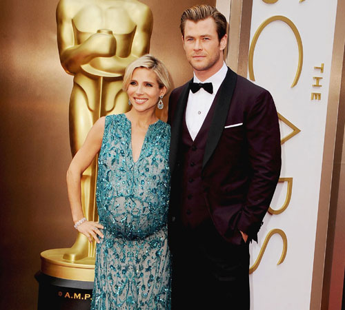 On the red carpet at the Oscars| 9