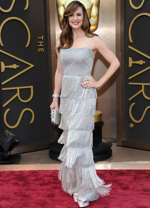 On the red carpet at the Oscars| 8