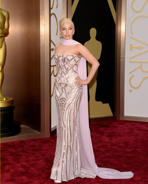 On the red carpet at the Oscars| 4