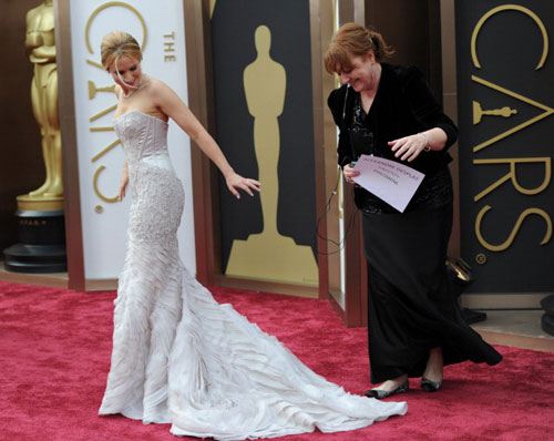 On the red carpet at the Oscars| 17