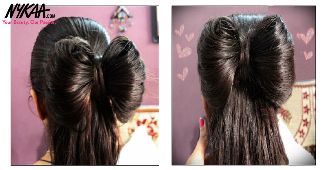 Adorable, super cute bow hairstyle  4