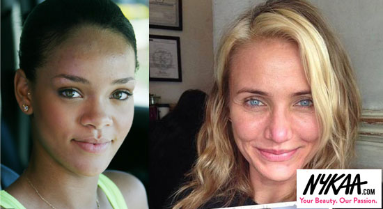 Barefaced, glowing beauty is in| 1