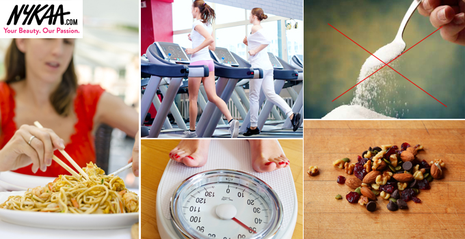 Easy ways to lose all the fat you've gained post holidays! 1