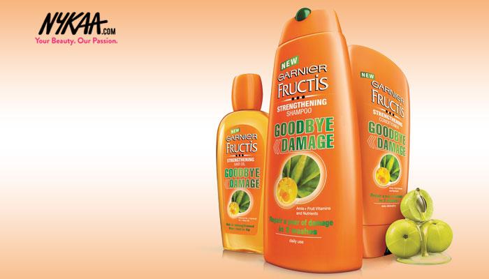 Garnier Fructis Goodbye Damage range