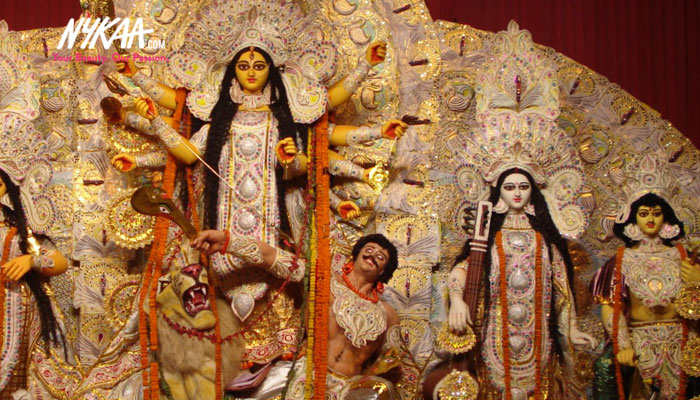 Vanquishing evil with Goddess Durga