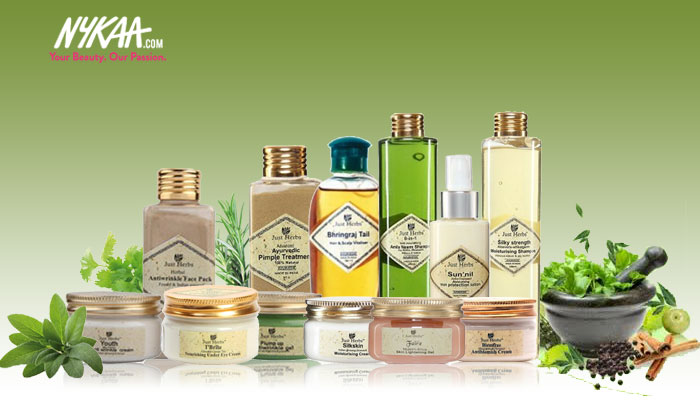 Luxurious, natural skincare with Just Herbs