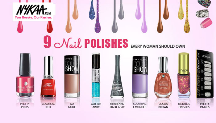 9 nailpolishes you can't live without!
