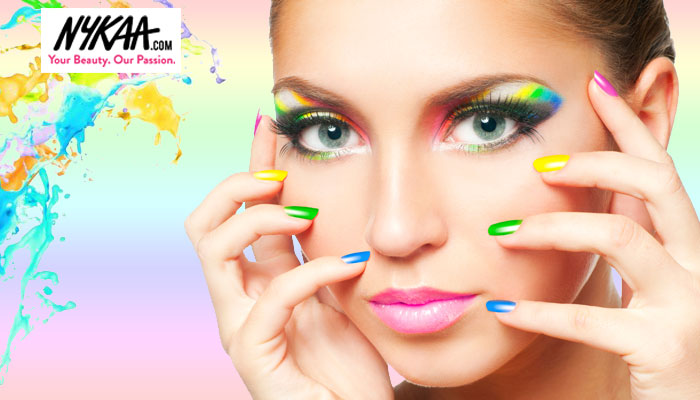 Splash out with neon nails this summer
