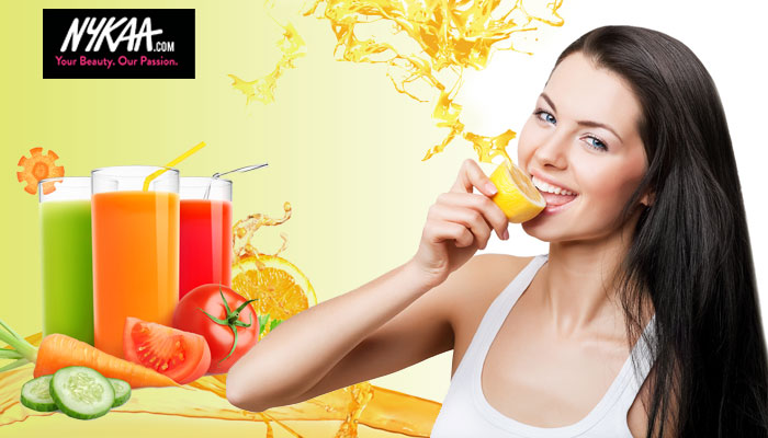 Juice your way to satiny skin and silky strands