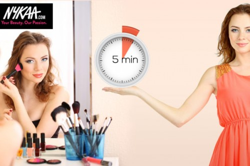 Look flawless in five minutes!