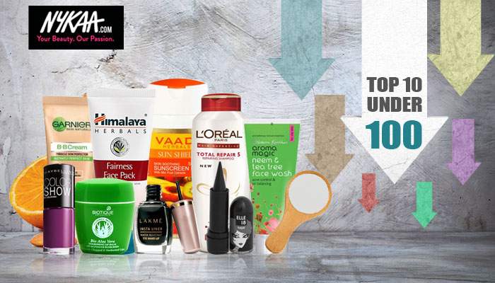Ten budget beauty products under Rs.100