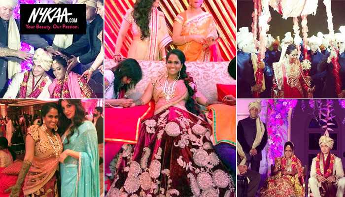 Arpita Khan's fairytale wedding