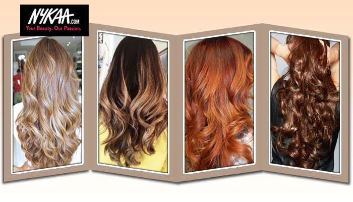 Four hot hair hues for cooler days