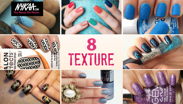 Eight textured manicure looks we love