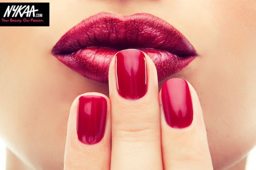 Hot trend: wine stained lips