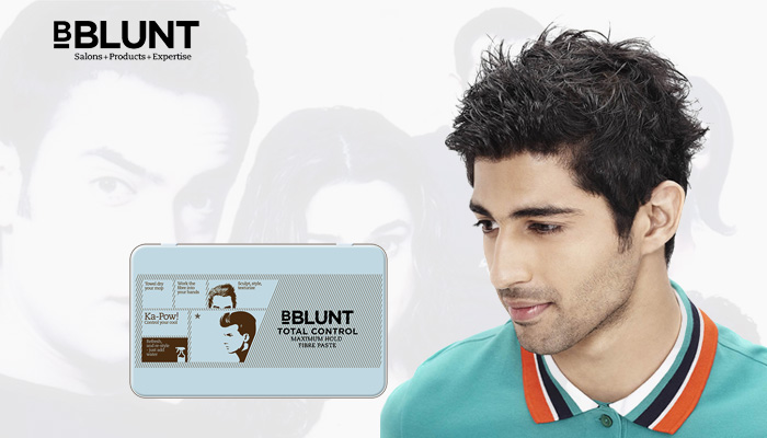 BBLUNT shows all men how to take control of their mane
