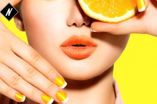 Hip trend: Orange Lipstick