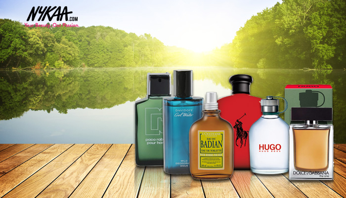 The top six summer scents for men