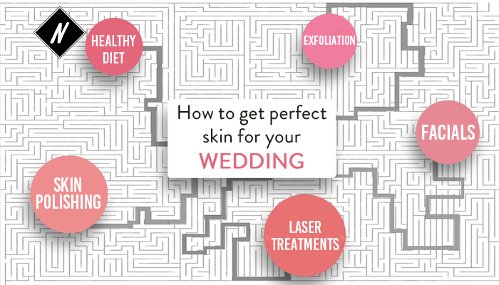 How to get perfect skin for your wedding