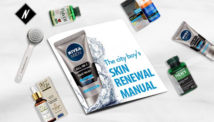 The city boy's Skin Renewal Manual