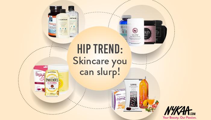 Hip trend: Skincare you can slurp!