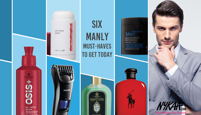 Six manly must-haves to get today