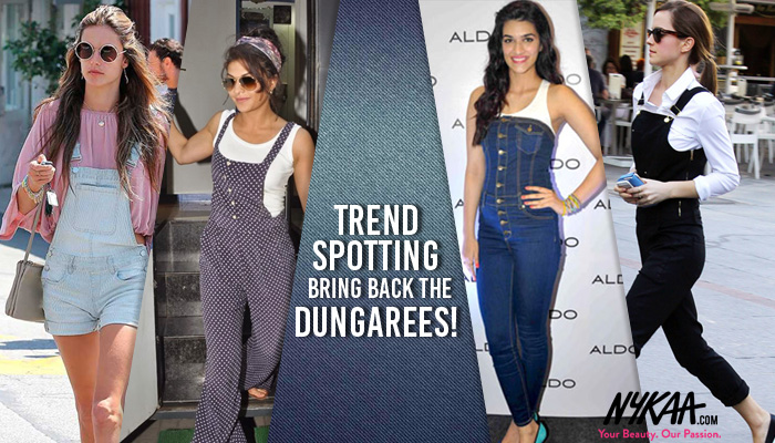 Trend Spotting: Bring back the Dungarees!
