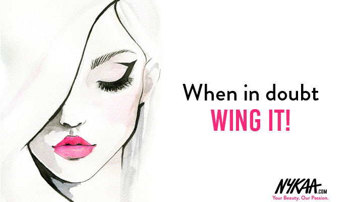 When in doubt wing it!