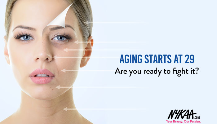 Aging starts at 29. Are you ready to fight it?