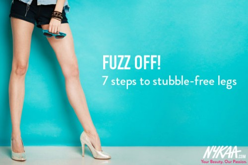 7 Steps To Stubble-Free Legs : How to Remove Hair from Your Legs