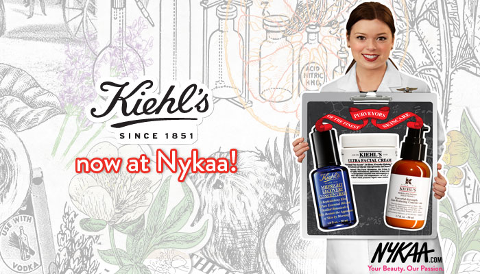 Kiehl's now at Nykaa!