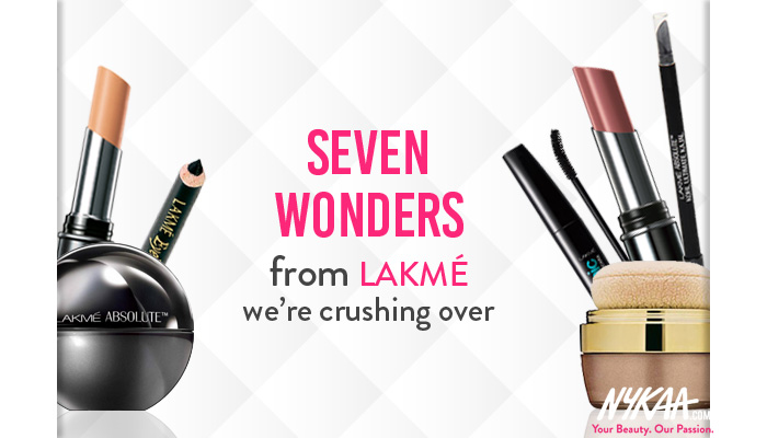 Seven wonders from Lakmé we're crushing over