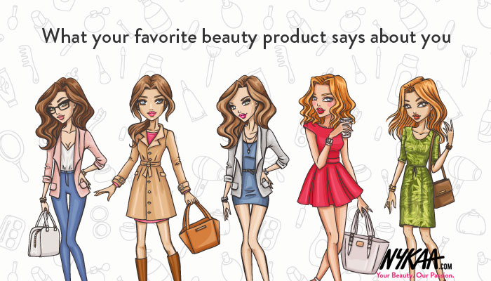 What your favorite beauty product says about you