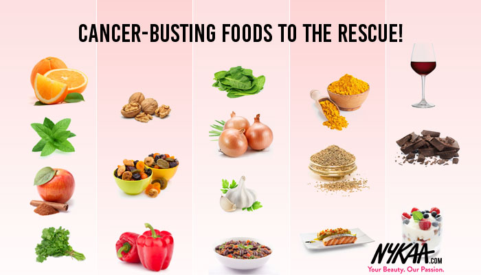 Cancer-busting foods to the rescue!