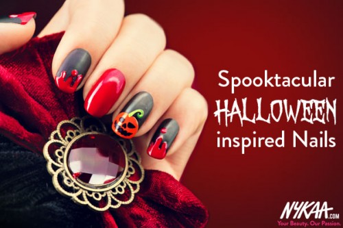 Spooktacular Halloween-inspired Nails!