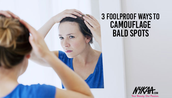 Three foolproof ways to camouflage bald spots